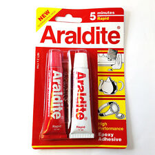 Araldite AB Epoxy Adhesive glue 5 minutes rapid NEW