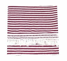"CushyChic Outdoor 38 x 68"" Fringed Blanket Throws in 9 Colors"
