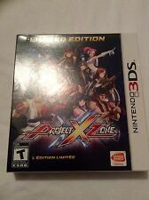 Project X Zone - Nintendo 3DS - NA Version Limited Edition