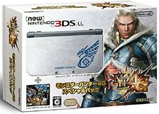 USED Nintendo 3DS LL Console System Monster Hunter 4G Special Pack Fast Shipping