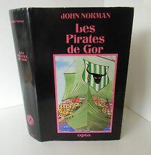 OPTA Aventures Fantastiques 22.Les Pirates de Gor.John NORMAN SF6