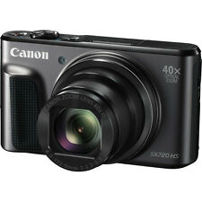 Canon PowerShot SX720 HS (Black)with Wifi Technology & 40x Optical Zoom (SMP6)