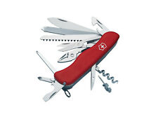 NEW VICTORINOX SWISS ARMY WORKCHAMP POCKET KNIFE RED BOXED 53761
