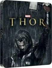 Marvel's Thor - Limited Edition Lenticular Steelbook [Blu-ray 3D - Blu-ray] New!
