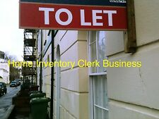 Set Up As A Lettings Home Inventory Clerk Business Details For Sale..,,=