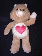 "Vintage 1984 Jumbo 36"" Care Bear Giant Tender Heart Large Vintage Kenner"
