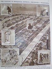 Organisation of fire fighting in residential districts in war time 1941 print