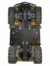 CanAm Outlander G1 MAX 650 800 HDPE poly plastic full skid plate Iron Baltic brp