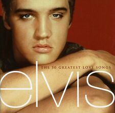 50 Greatest Love Songs - Elvis Presley (2001, CD NEU)2 DISC SET