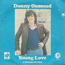 "DONNY OSMOND"" young love""  7"" uk press"