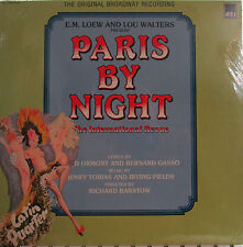 Paris by Night (Soundtrack) AEI 1158 (Steve Barry, Betty Rodgers) ('85) (sealed)