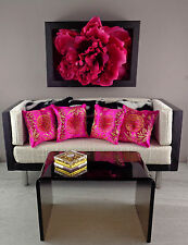 Miniature 1:6 Scale Handmade Pillow Set for Barbie/Fashion Royalty Doll Displays