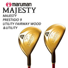 MARUMAN GOLF JAPAN MAJESTY PRESTIGIO 9  UTILITY FAIRWAY WOOD & UTILITY 2016