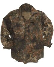 BW OUTDOOR FELDHEMD German Army Flecktarn Langarm Hemd Long Sleeve shirt XXL 2XL