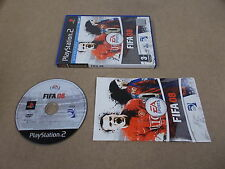 PS2 Playstation 2 Pal Game FIFA 08 with Box Instructions
