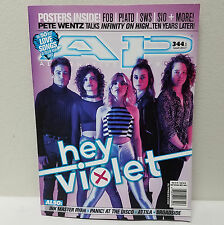 HEY VIOLET AP ALTERNATIVE PRESS MAGAZINE March 2017 Issue 344 Cover 1 FOB A