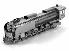 Steam Locomotive: Metal Earth 3D Laser Cut Train Miniature Model Kit 2 sheet