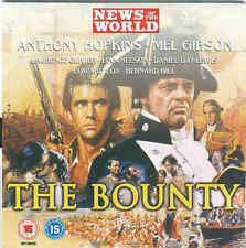 THE BOUNTY - Starring Anthony Hopkins, Mel Gibson - DVD