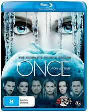 Once Upon A Time : Season 4 (Blu-ray, 5-Disc Set) NEW