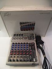 Peavey PV8 8-Channel Compact Audio Mixing Board for Parts or Repair NO RESERVE!!