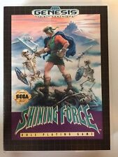 Shining Force - Sega Genesis - Replacement Case - No Game