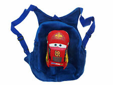 Blue Cars Car MovieKids Backpack Bag School Disney Soft Travel Rucksack Nursery