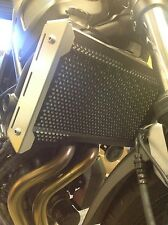 Yamaha XSR700 Radiator Guard Rad Cover 2015 2016. Stainless Steel.