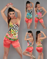 NEW SEXY WOMEN'S HOT PANT CLUBBING LADIES CORAL SHORTS SIZE 8 10 12 14 BLACK S M