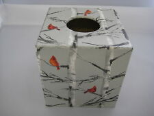 Silver Birch Tissue Box Cover wooden ideal in bathroom