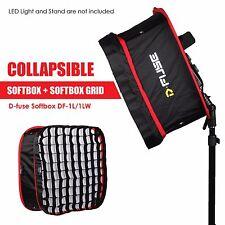 Kamerar D-fuse Combo: Large DF-1L LED Light Panel Softbox & D-Fuse Softbox Grid