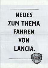 Prospekt Lancia Thema 4/89 brochure 1989 Auto PKW Italien Autoprospekt Broschüre