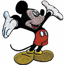 """Mickey Mouse Tada 2.75"""" x 3"""" Logo Sew Ironed On Badge Embroidery Applique Patch"""