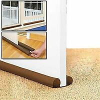 2 X TWIN DRAFT DRAUGHT GUARD EXCLUDER DOOR & WINDOW HEAT INSULATOR ENERGY SAVING