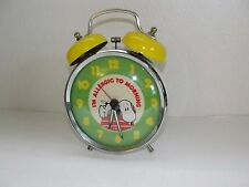 "Snoopy Equity alarm clock model 596 ""I'm Allergic to Morning"""