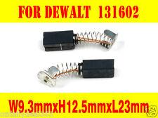 Carbon Brushes For Dewalt B&D Black Decker 131602-00 2730 type1 DW494 sander saw