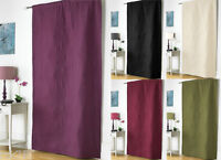 Embossed Thermal Door Curtain Panel, Energy Saving Curtains, 117x 213 cm