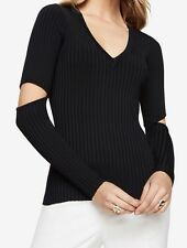 New with defect $178 BCBG Max Azria Janele Elbow-Slit B904 Sweater Top Sz Xs