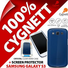 New Cygnett Clear TPU Case Cover For Samsung i9300 Galaxy S3 + Screen Protector