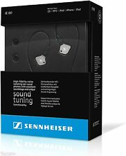 Sennheiser IE 80 Premium In-Ear Only Headphones - Silver/Black *Brand New* L@@K