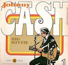 Johnny Cash Jeannie C. Riley LP Longine Symphonette, SQ-93487, Big River