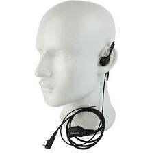 Retevis R-111 G Type PTT Earpiece Headset PU For Kenwood Retevis Baofeng TYT US