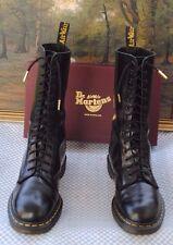 VINTAGE Dr. Martens 14 Eyelet  1914 Boots Made in England UK 8 Skinhead