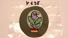 Bundeswehr TTA Scharfschützen Abzeichen bunt auf oliv (k698)