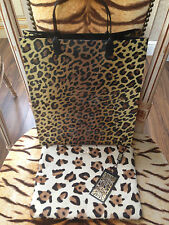 NUOVO Biba Leopard pony skin MAKE-UP POUCHETTE DA TOILETTE O TABLET CASE & Borsa Regalo