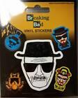 Official Licensed Breaking Bad Heisenberg Vinyl Stickers