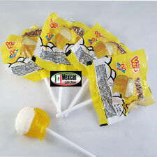 15-Pc Vero Tarrito Fruit Flavored Lollipops Hard Candy 10-oz Mexican Candy