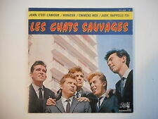 LES CHATS SAUVAGES : JOHN, C'EST L'AMOUR / HORIZON ▓ CD MAGIC - PORT GRATUIT ▓