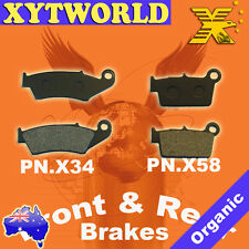 FRONT REAR Brake Pads for Yamaha WR 250 F R 2003-2013