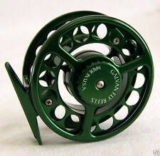 GALVAN RUSH LIGHT LT R-10 FLY REEL GREEN 10/11 WT. ROD MADE IN USA FREE $80 LINE