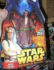 STAR WARS REVENGE OF THE SITH AGEN KOLAR FIGURE MOC